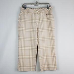 Burberry golf pants size 10